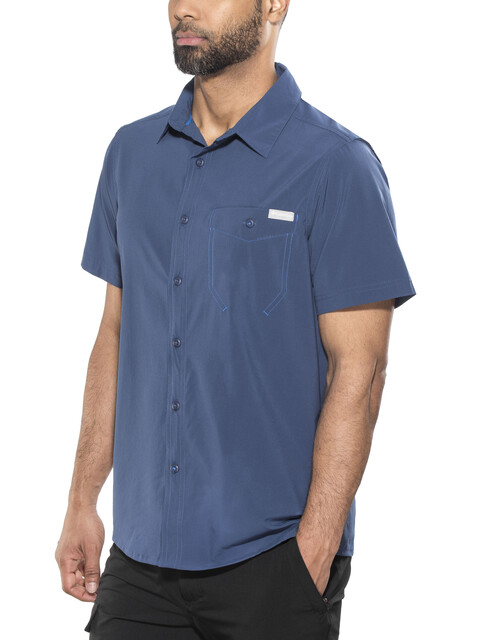 Columbia Triple Canyon Solid SS Shirt Men carbon